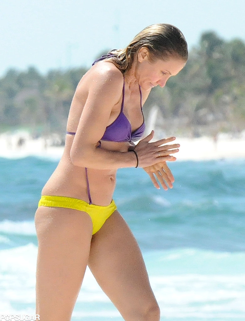 Cameron Diaz and Drew Barrymore Hit the Beach For a Girls' Bikini Getaway