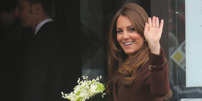 Kate Middleton Bundles Up Her Baby Bump For a Visit to Grimsby