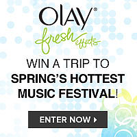 Show Us Your Festival Style and You Could Win a Trip to Spring's Hottest Music Festival!