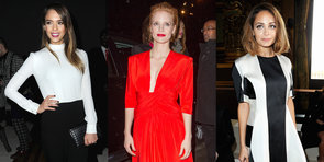 Milla, Leigh and Jessica Make Their Chic Arrival at Chanel's PFW Show