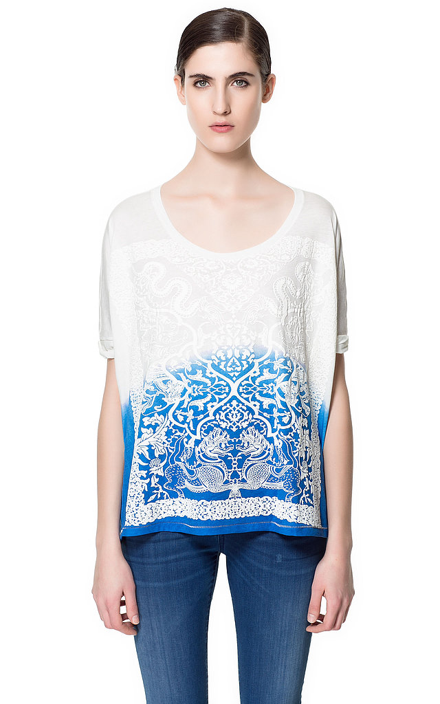 Replace your tie-dye tee from camp with this more modern and much sleeker Zara Tie-Dyed T-Shirt ($30).