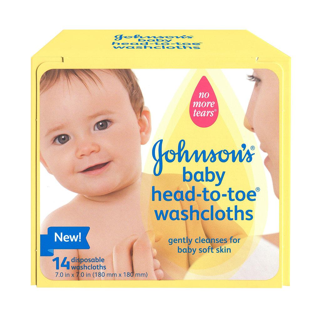 Johnson's Baby Head-to-Toe Washcloths