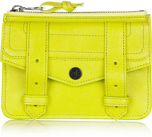 Proenza Schouler PS1 small leather pouch