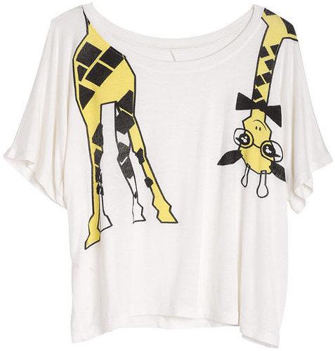 Nerdy Giraffe Tee