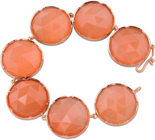 Irene Neuwirth Peach Moonstone Bracelet
