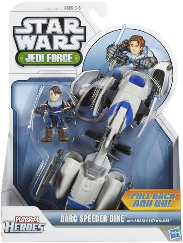 Hasbro Star Wars Jedi Force Barc Speeder Bike w/ Anakin