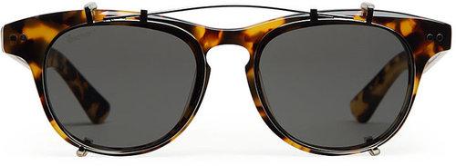 Illesteva / Lenox Clip-On Sunglasses