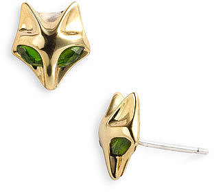 Elizabeth and James 'Fox' Stone Stud Earrings