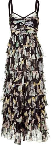 D&G Dolce & Gabbana Multicolor Floral Maxi Dress