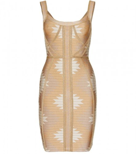 Hervé Léger ARIZONA JACQUARD BANDAGE DRESS