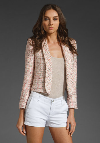 Alice + Olivia Jacks Single Lapel Blazer