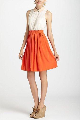 Colorblocked Shirtdress, Petite