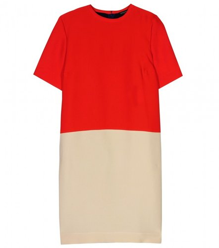 Vionnet COLOR-BLOCK SHIFT DRESS