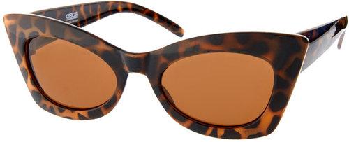 ASOS Tort Cat Eye Sunglasses