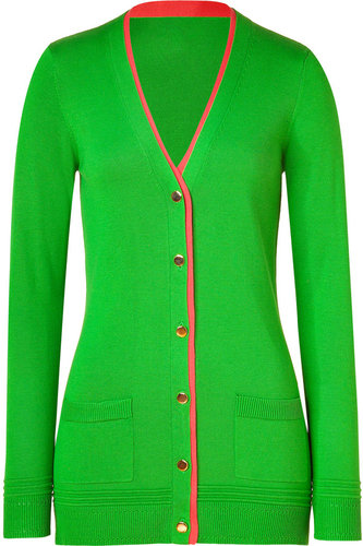 Milly Grass/Watermelon Long Cardigan