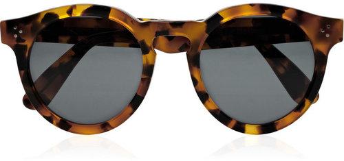 Dasha for Illesteva Leonard round-frame acetate sunglasses