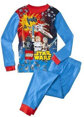 Star War Lego® Boys 2-piece Block The Force Pajama Set - Blue
