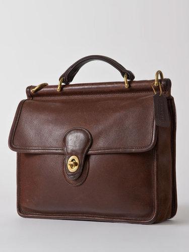 Vintage Coach Willis Leather Purse