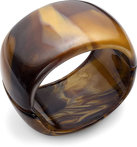Alfani Bracelet, Tortoise Resin Bangle