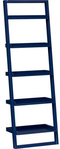 "Sloane Cobalt 25.5"" Leaning Bookcase"