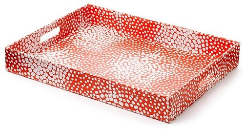 DIANE von FURSTENBERG Square Dot Rectangular Tray