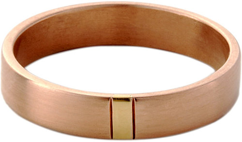 Monique Péan Homme Rose Gold & Yellow Gold Two-Tone Band