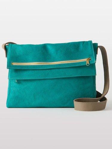 Leather Zip 2 Bag