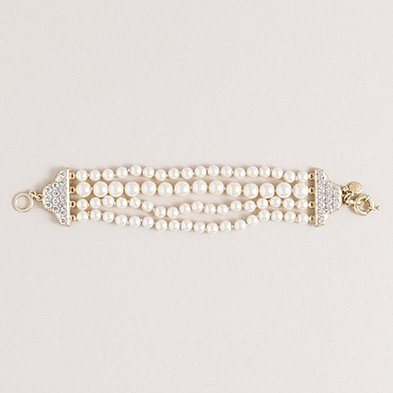 Graceful pearl bracelet