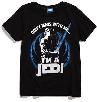 Mighty Fine 'Star Wars®' T-Shirt (Little Boys)