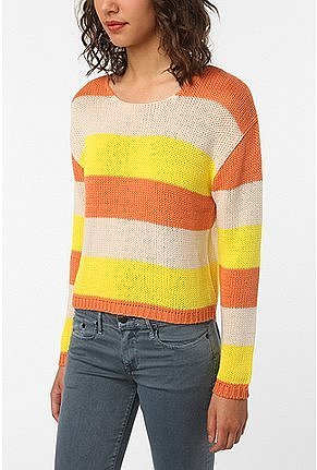 Lucca Couture Colorblock Sweater