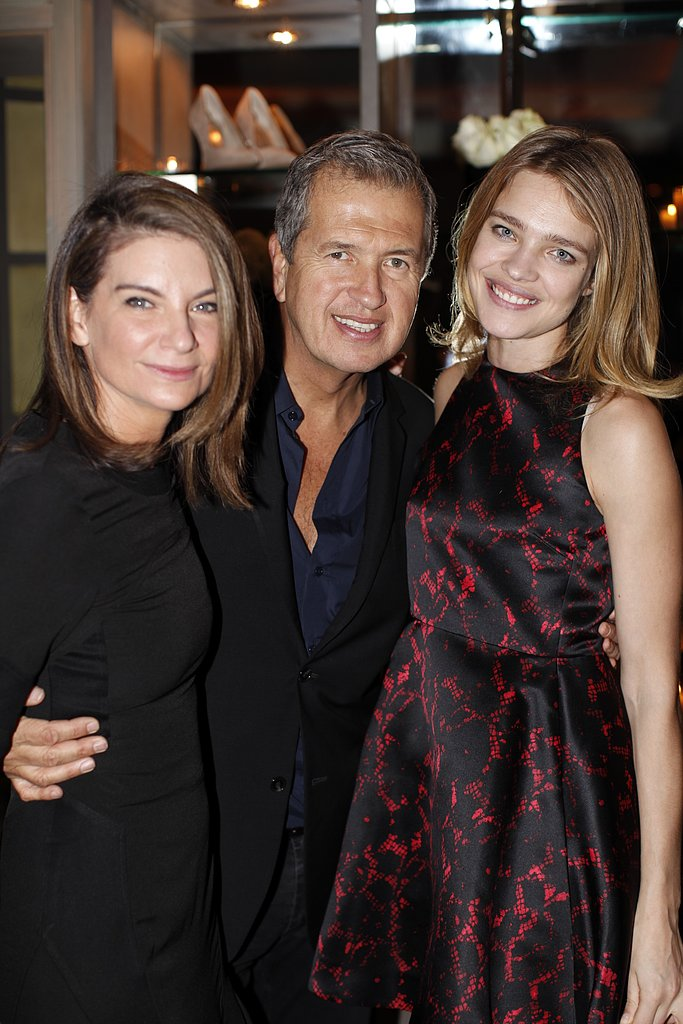 Photo of Mario Testino & his friend  Natalia Vodianova -