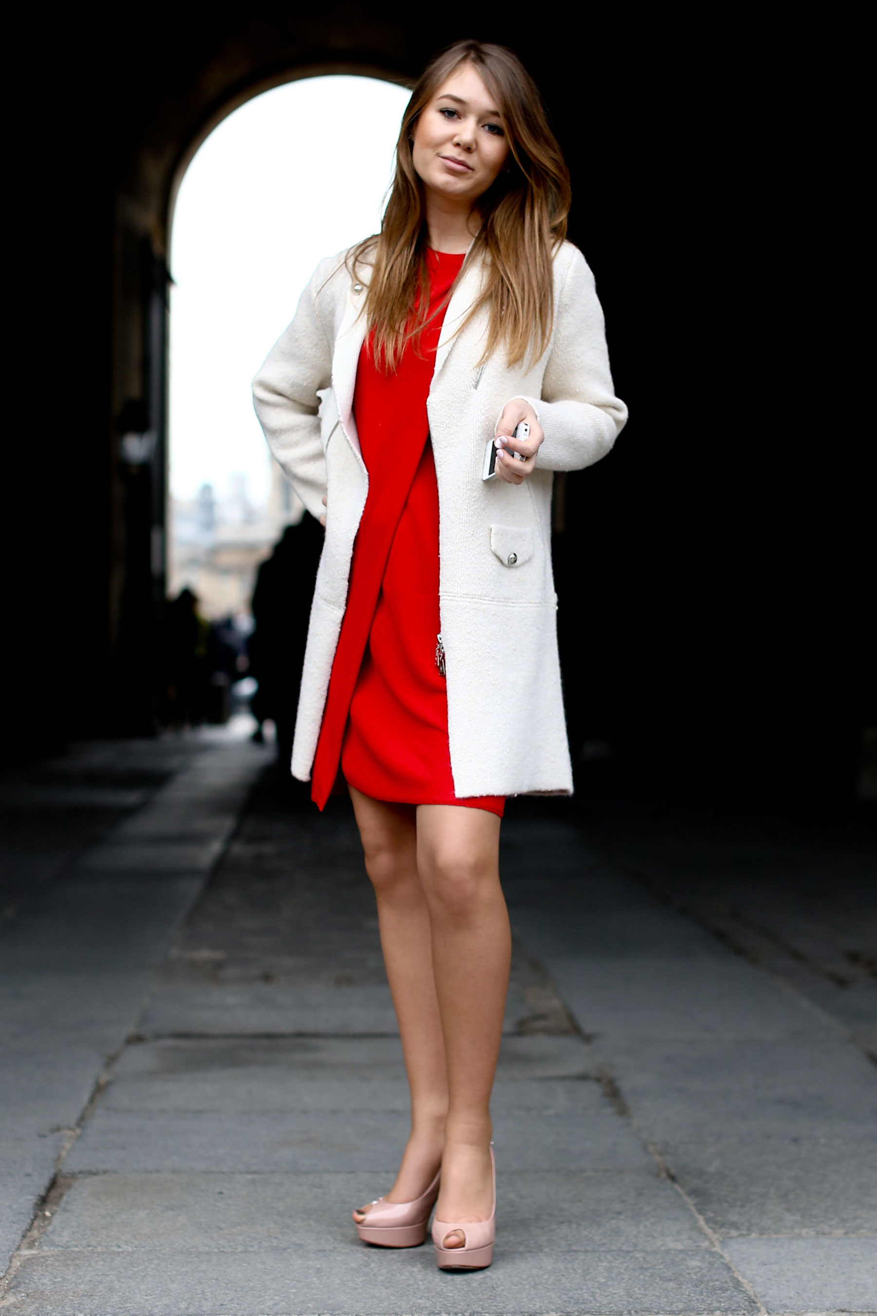 Coat With Dress | Down Coat