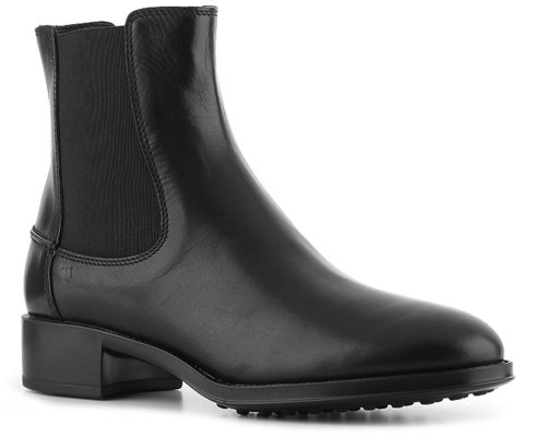 Tod's Leather Ankle Bootie