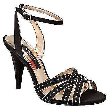 NINA Deana Strappy Satin Sandals