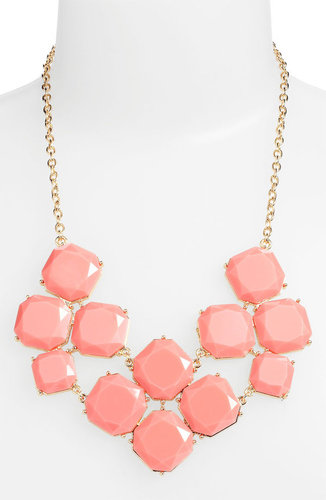 Stephan & Co. Stone Statement Necklace