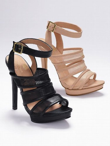 Colin Stuart Mesh Strappy Sandal