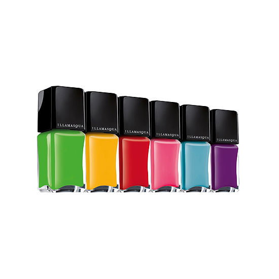 Illamasqua Rubber Brights Nail Varnish in Nuture, $21