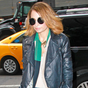 Nicole Richie Fashion Star Looks in NYC