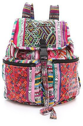 Stela 9's Santiago Patchwork Backpack ($84) is just begging to be taken to the beach.