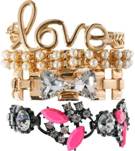 ASOS Love Bracelet Multipack