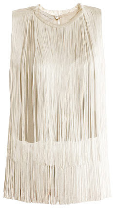 "[a href=""/womens/stella-mccartney""]Stella McCartney[/a]              Columbia fringe blouse"