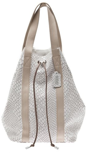 Mm6 By Maison Martin Margiela Embossed leather backpack