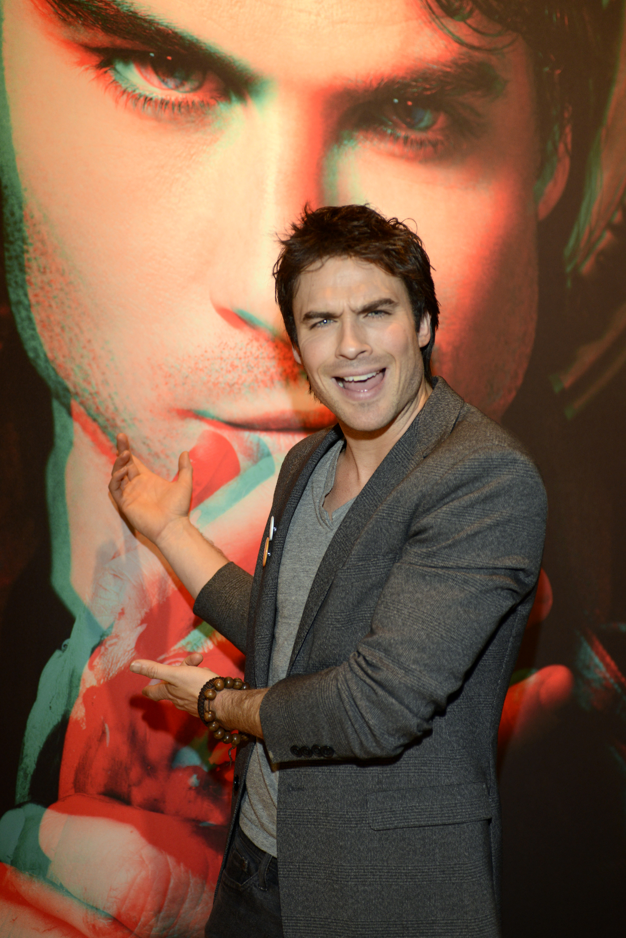 Ian Somerhalder attended the Warner Brothers party at SXSW.