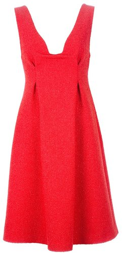Calvin Klein Collection V-neck dress