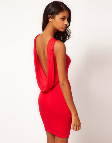 ASOS Sexy Dress with Cowl Back