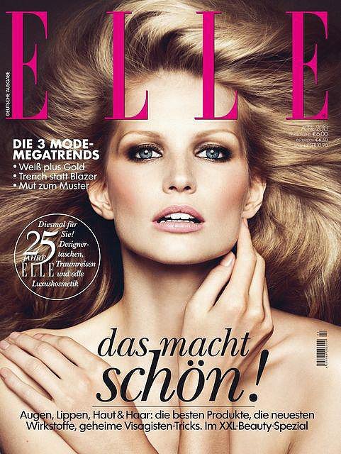 Elle Germany April 2013