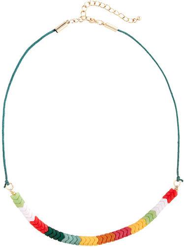 Zig Zag Plastic Bead Jewelry