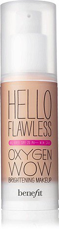 hello flawless oxygen wow! brightening makeup, oil-free SPF 25 PA+++
