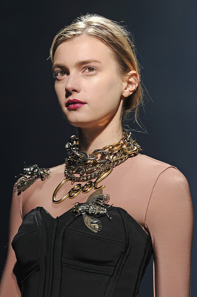 Dark & Semi-Stained Lips: Lanvin