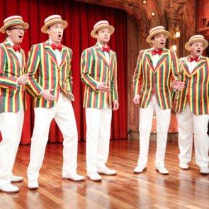 Justin Timberlake Sings SexyBack Barbershop Quartet Style